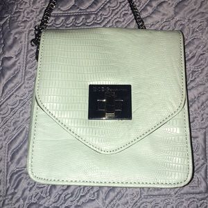 BCBG Generation Mint structured crossbody bag